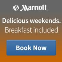 Get great weekends with a delicious free breakfast (up to a $40 value) at Marriott.com