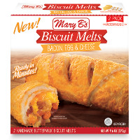 Save $0.50 on any box of Mary B's New Breakfast Biscuit Melts