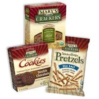 Print a coupon for $1 off one Mary's Gone Crackers product