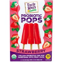 Print a coupon for $2 off one box of Uncle Matt's Organic Probiotic Popsicles