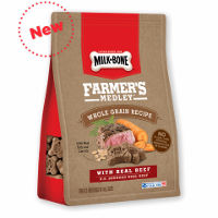 Print a coupon for $1 off one Milk-Bone Farmer's Medley Biscuits