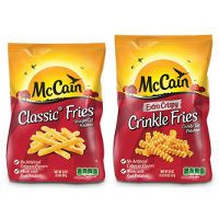 Print a coupon for $1 off two McCain Frozen products