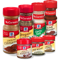 Print a coupon for $1 off two McCormick Spices, Herbs or Extracts