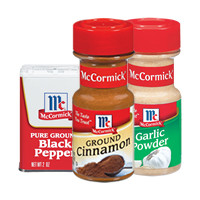 Save $0.50 on two McCormick Herbs or Spices