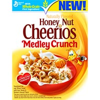 Save $0.50 on Honey Nut Cheerios or Honey Nut Cheerios Medley Crunch