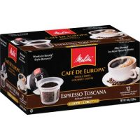 Print a coupon for $2 off Melitta Cafe de Europa Single Serve Coffee