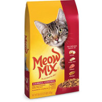 Save $0.75 on one bag of Meow Mix Dry Cat Food, 3.15 - 3.46lb. bags