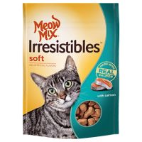 Save $0.55 on one bag of Meow Irresistibles Treats