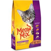 Save $1 on a bag of Meow Mix Dry Cat Food