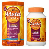 Save $5 on two Meta by Metamucil Fiber Powder or Capsules products