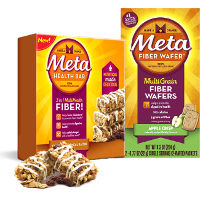 Save $1 on one box of Metamucil Meta Bars or Wafers