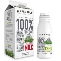 Print a coupon for $1 off one Maple Hill Creamery Milk, Kefir or Greek Yogurt