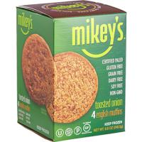 Print a coupon for $1 off Mikey's English Muffins