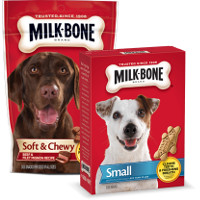 Print a coupon for $1 off two Milk-Bone Dog Treats