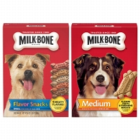 Save $1 on any two Milk Bone dog snacks