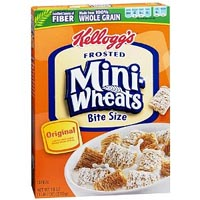 Print a coupon for $1 off two boxes of Kellogg's Frosted Mini-Wheats