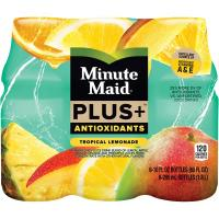 Print a coupon for $0.55 off one 6 pack of Minute Maid Juice Plus+ Antioxidants