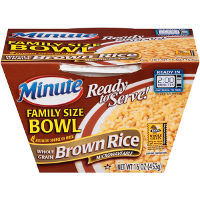 Print a coupon for $1 off one Minute Ready to Serve Family Bowl