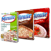 Print a coupon for $0.50 off any Minute Instant Rice