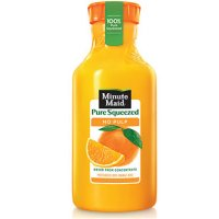 Save $1 on any 59 ounce Pure Squeezed bottle of Minute Maid Juice
