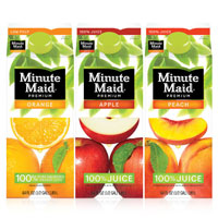 Save 75 cents on any carton of Minute Maid juice