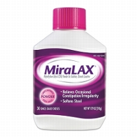 Save $2 on any bottle of MiraLAX, 14ct dose or larger