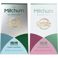 Save $3 on one Mitchum Men's or Women's Clinical Deodorant
