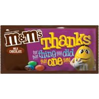 Print a coupon for $0.50 off two NEW M+M's Messages Chocolate Candy Bars