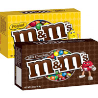 Save $0.50 off any two box packs of M+M'S Chocolate Candies