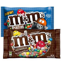 Get $1 off a bag of M+M's Brand Chocolate Candies
