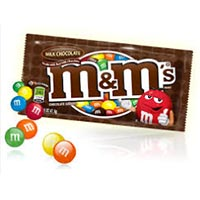 Print a coupon for $1.50 off any two M+M's brand candies 9.4 ounces or larger
