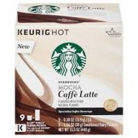 Print a coupon for $1.50 off a box of Starbucks Mocha Flavored Caffee Latte K-Cup Pods
