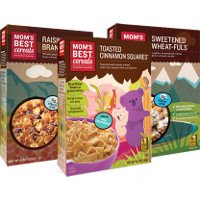 Print a coupon for $1 off one box of Mom's Best Cereals