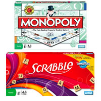Save $3 on Hasbro Monopoly, The Game of Life or Scrabble Board Game