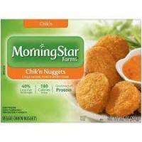 Save $0.75 on a box of MorningStar Farms Chik'n Nuggets