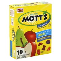 Save $0.50 on one box of Mott's Fruit Flavored Snacks