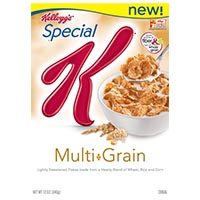 Save $1 on two boxes of Kellogg's Special K Cereals
