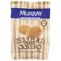 Print a coupon for $1 off Apple Cider when you buy two bags of Murray Ginger Snaps Cookies