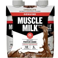 Print a coupon for $1 off 4 pack of Muscle Milk Protein Shakes