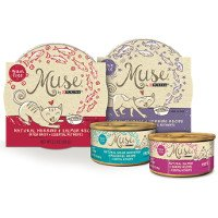 Print a coupon for $2 off any six tubs/cans of Muse Wet Cat Food