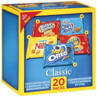 Save $1 on one 20 count Nabisco Snack Multipack