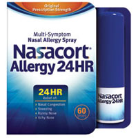 Save $2 on Nasacort Allergy 24HR 60 Spray