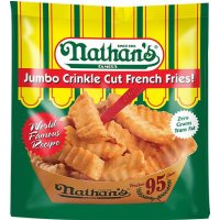 Save $0.55 on Nathan's  Frozen Fries or Onion Rings product