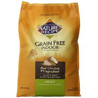 Print a coupon for $6 off a bag of Nature's Recipe Dry Cat Food, 11lbs. or larger