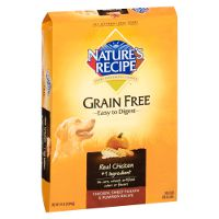Print a coupon for $5 off a bag of Nature's Recipe Dry Dog Food, 24lbs. or larger