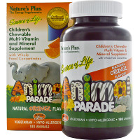 Print a coupon for $3 off any Nature's Plus Animal Parade Supplements