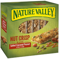 Save $0.75 on one box of Nature Valley Nut Crisp, Roasted Nut Crunch or Protein Bars
