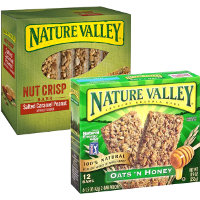 Save $0.50 on any box of Nature Valley Granola or Nut Crisp Bars