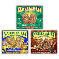 Print a coupon for $0.50 off two boxes of Nature Valley Granola Bars or Backpackers