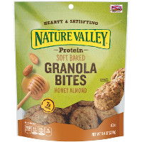 Save $1 on one bag of Nature Valley Protein Soft Baked Granola Bites